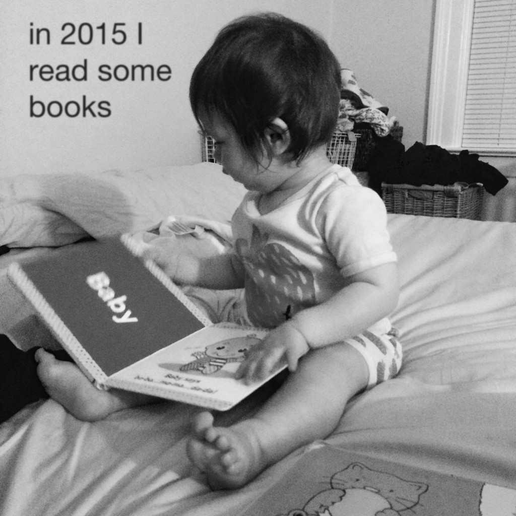 in 2015 I  read some books